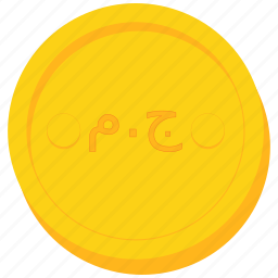 coin, currency, egypt, egyptian, gold, pound icon