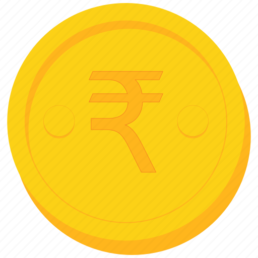 Coin, currency, gold, india, indian, rupee icon  Coin, currency,...
