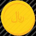 coin, currency, gold, iran, irani, iranian, rial icon