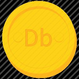 coin, currency, dobra, gold, principe, sao, tome icon