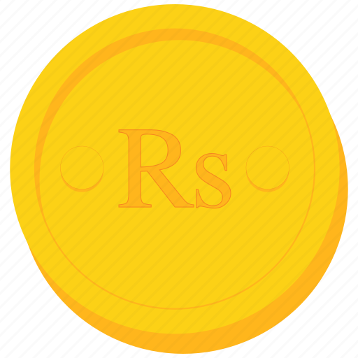 coin, currency, gold, pakistani, rupee, seychellois, srilankan icon