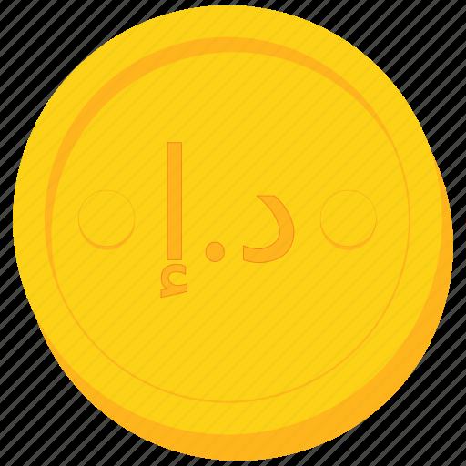 arab, coin, currency, dirham, emirates, gold, uae icon