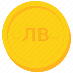 bulgarian, currency, gold, kyrgyzstani, levbrazil, som, uzebekistan icon