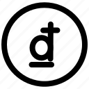 coin, currency, dong, money, sign icon