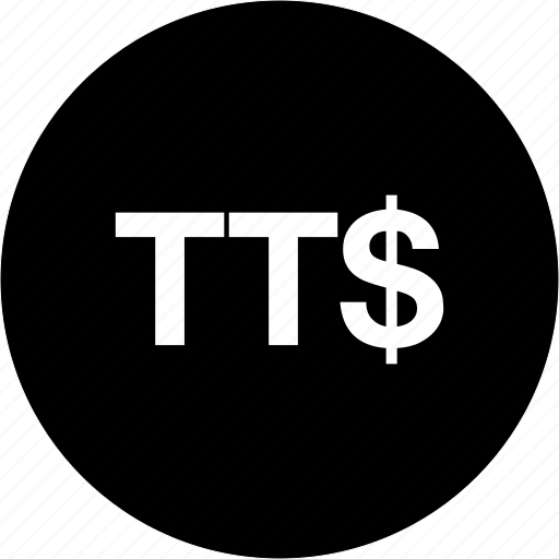 finance, money, payment, trinidad and tobago dollar currency, ttd icon