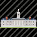 educational establishment, educational institution, higher education institute, university, university of pennsylvania icon