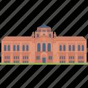 california los angeles, educational establishment, educational institution, higher education institute, university icon