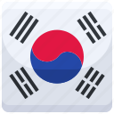 south, korea, counrty, flag, nation, national