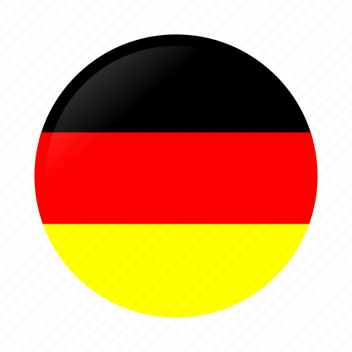 Circle, country, flag, flags, germany, germany flag, national icon -  Download on Iconfinder