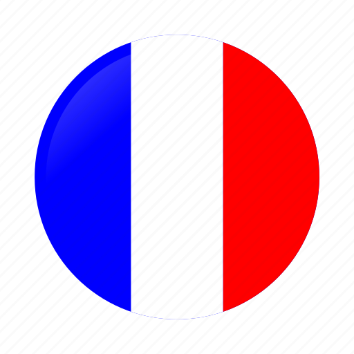 Circle, country, flag, flags, france, france flag, french icon - Download on Iconfinder