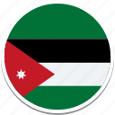 flag of jordan, jordan country flag, jordans flag, jordans square flag, jordan