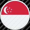 singapore country flag, flag of singapore, singapores square flag, singapore, singapores flag