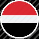 yemens square flag, yemen, yemens flag, flag of yemen, yemen country flag