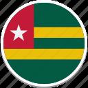 togo, togo country flag, togos square flag, flag of togo, togos flag