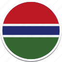 flag of the gambia, gambia country flag, the gambia, the gambias flag, the gambias square flag icon
