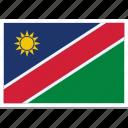 flag of namibia, namibia, namibia country flag, namibias flag, namibias square flag icon
