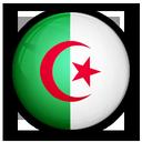 of, flag, algeria icon