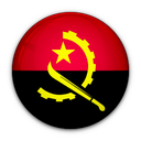 angola, flag, of icon