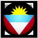 and, of, flag, barbuda, antigua icon