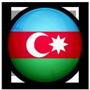 of, flag, azerbaijan icon