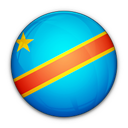 congo, democratic, flag, of, republic, the icon