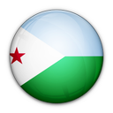 djibouti, flag, of icon