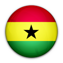 flag, ghana, of icon