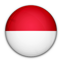of, flag, indonesia icon