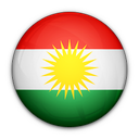 flag, kurdistan, nation, of icon