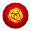 flag, kyrgyzstan, of icon