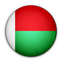 flag, madagascar, of icon