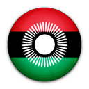 flag, malawi, of icon