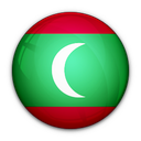 flag, maldives, of icon
