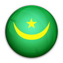 flag, mauritania, of icon