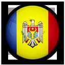 flag, moldavia, of icon