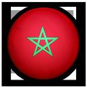 of, flag, morocco icon