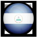 flag, nicaragua, of icon