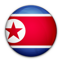 flag, korea, north, of icon