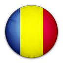 of, flag, romania icon