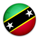 and, kitts, of, flag, saint, nevis