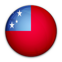 of, flag, samoa icon