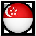 Of, flag, singapore