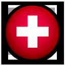 switzerland, of, flag icon