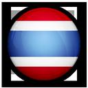 of, flag, thailand icon