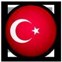 turkey, of, flag icon