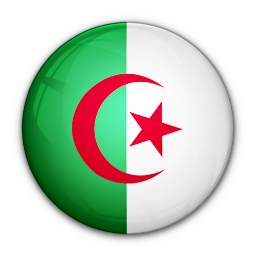 algeria, flag, of icon