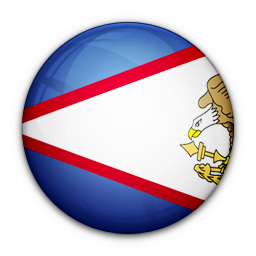 american, flag, of, samoa icon