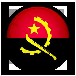 angola, flag, of icon