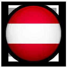 austria, flag, of icon