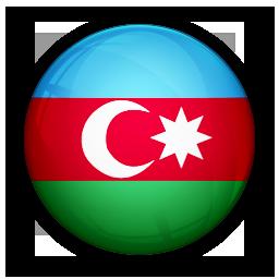 azerbaijan, flag, of icon